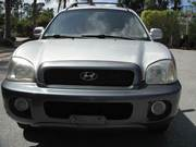Used Silver Color 2001 Hyundai Santa Fe GLS AWD 4dr SUV For Sale